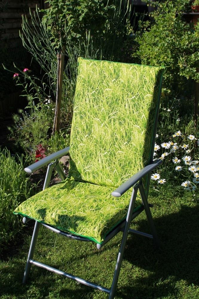 auflagen bezug f r hochlehner stuhl beidseitig verwendbar. Black Bedroom Furniture Sets. Home Design Ideas